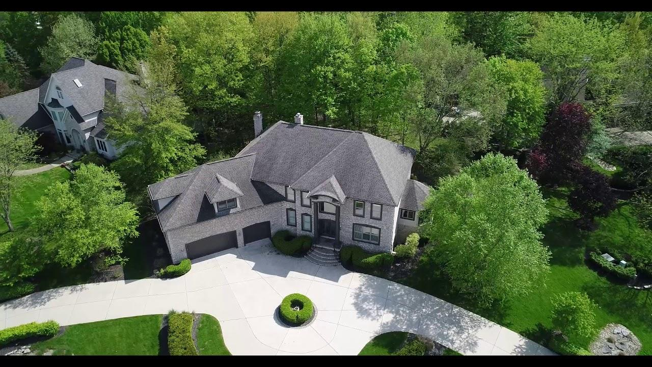 10510WellingtonBoulevard Powell OH aerial video preview