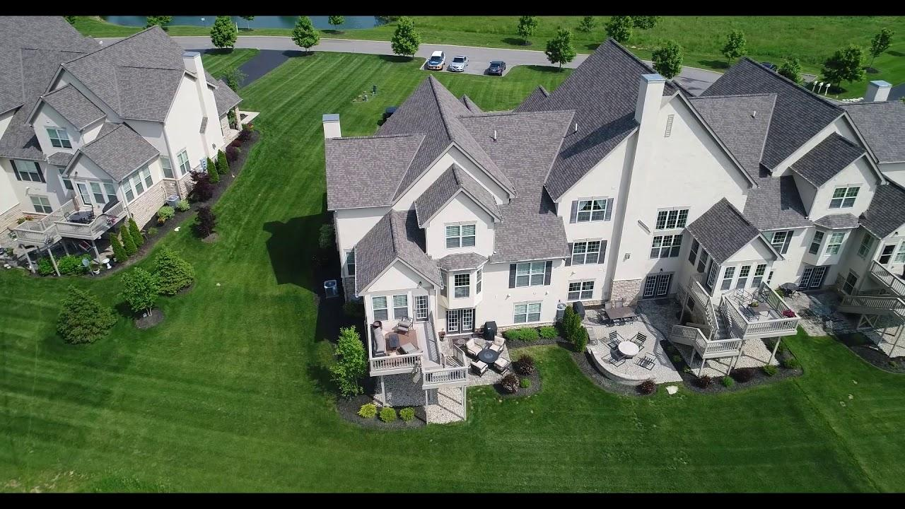 4793ScenicCreekDrive Powell OH aerial video preview