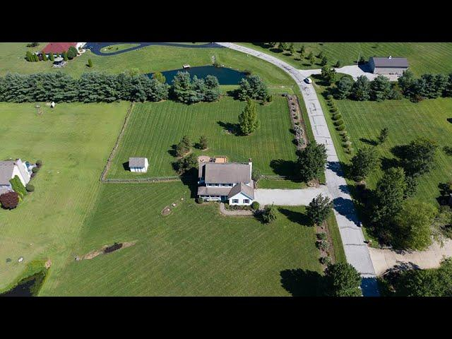 87ForbiddenLakesCourt Johnstown OH aerial video preview