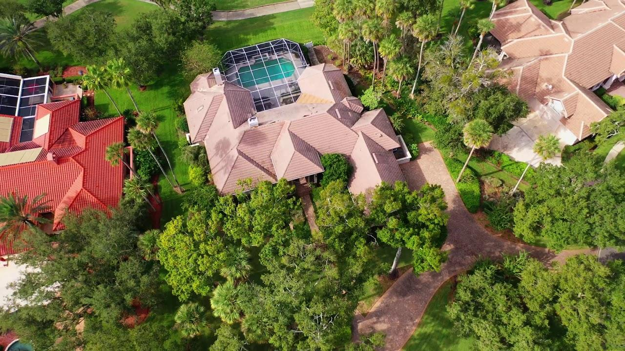 153TWELVEOAKSLN PONTE VEDRA BEACH FL aerial video preview