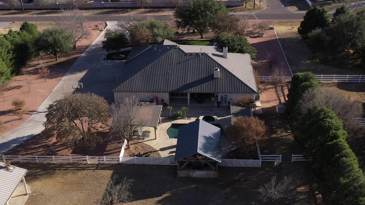 116SolomonLn Midland TX aerial video preview
