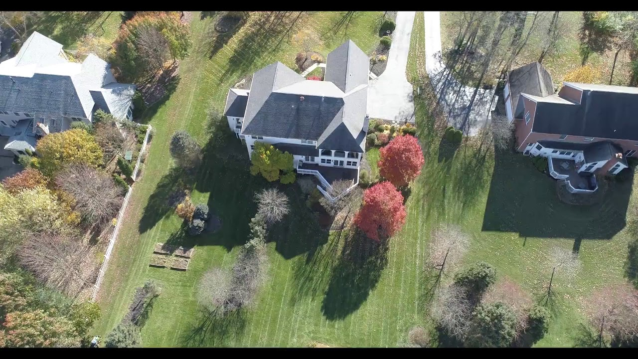 1288SherborneLane Powell OH aerial video preview