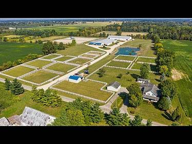 9018HarriottRoad Marysville OH aerial video preview